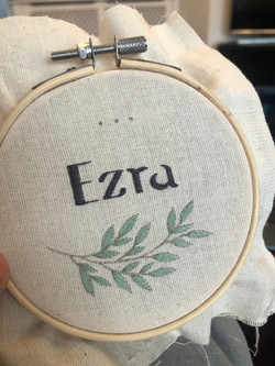Ezra baby hoop