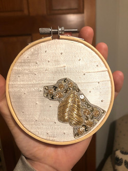 Goldwork Cocker Spaniel