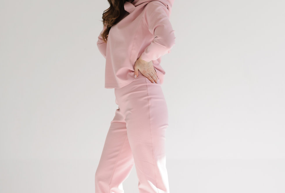 Pink tracksuit