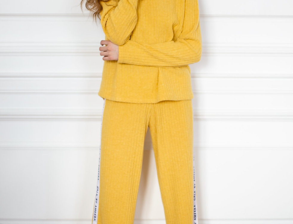 Yellow tracksuit