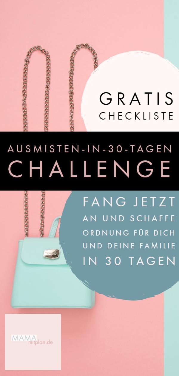 Die Ausmisten-in-30-Tagen-Challenge!