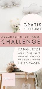 Ausmisten-in-30-Tagen-die-Challenge! Kinderzimmer
