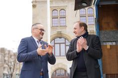 Wahlkampfauftakt in Dessau