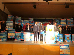 Wahlkampfauftakt in Moosburg an der Isar