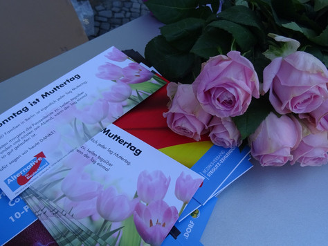 Stand zum Muttertag in Steglitz-Zehlendorf