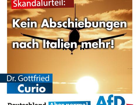 Pressemitteilung zum Abschiebeverbot nach Italien