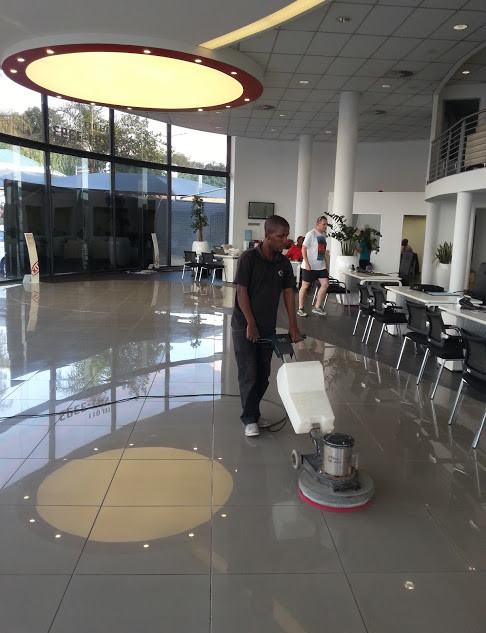 Tile Polishing