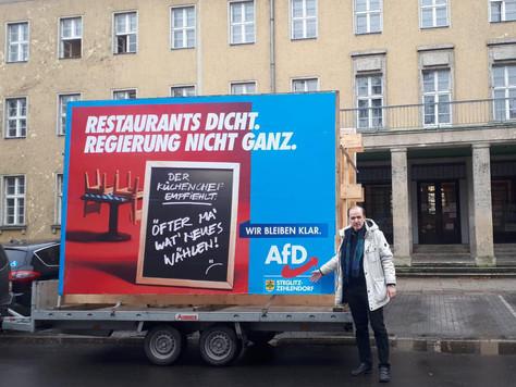 Steglitz-Zehlendorf: Plakat-Kampagne