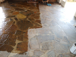 Slate Tile Clean and Seal