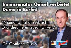 Pressemitteilung zum Verbot der für das Wochenende in Berlin geplanten Corona-Demonstrationen
