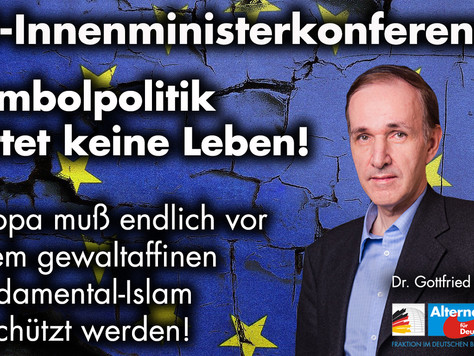 Pressemitteilung zur EU-Innenministerkonferenz
