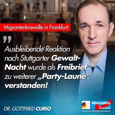 Pressemitteilung zur Krawallnacht in Frankfurt