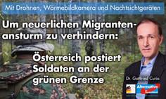 Pressemitteilung zu österreichischen Grenzschutzmaßnahmen