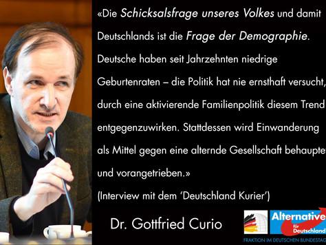 Interview mit dem 'Deutschland Kurier'