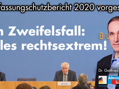 Pressemitteilung: Verfassungsschutzbericht 2020