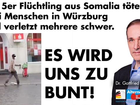 Pressemitteilung: Islamistischer Terror in Würzburg