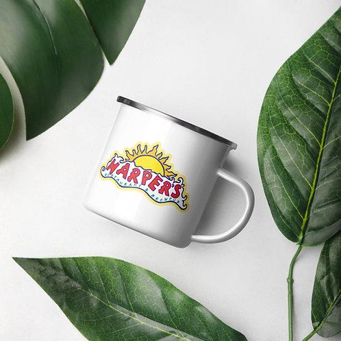 Harper's Logo Enamel Mug