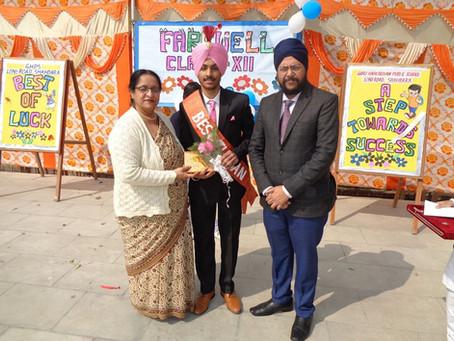 Farewell Party Organised At Guru Harkrishan Public School, Loni Road, Shahdara