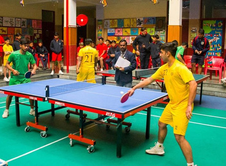 Inter-House Table Tennis Tournament (2020)At The Mann School