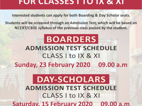 """Admissions Open in India's Top Ranked Boarding School """"The Mann School"""""""