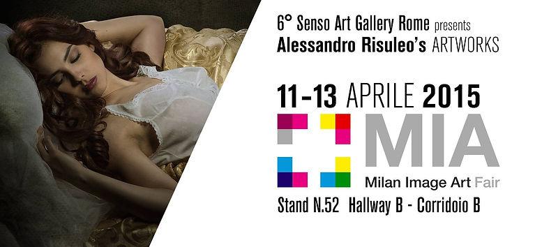 Invito MIA, Sesto Senso Art Gallery