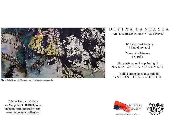 Invito Festa della Musica, Sesto Senso Art Gallery