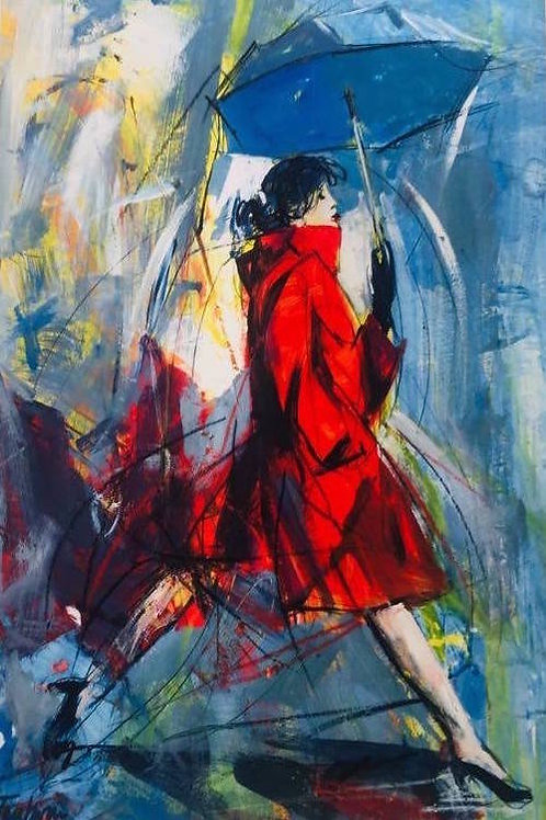 Antonio Tamburro, Woman in red