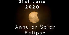 21st June Annular Solar Eclipse India