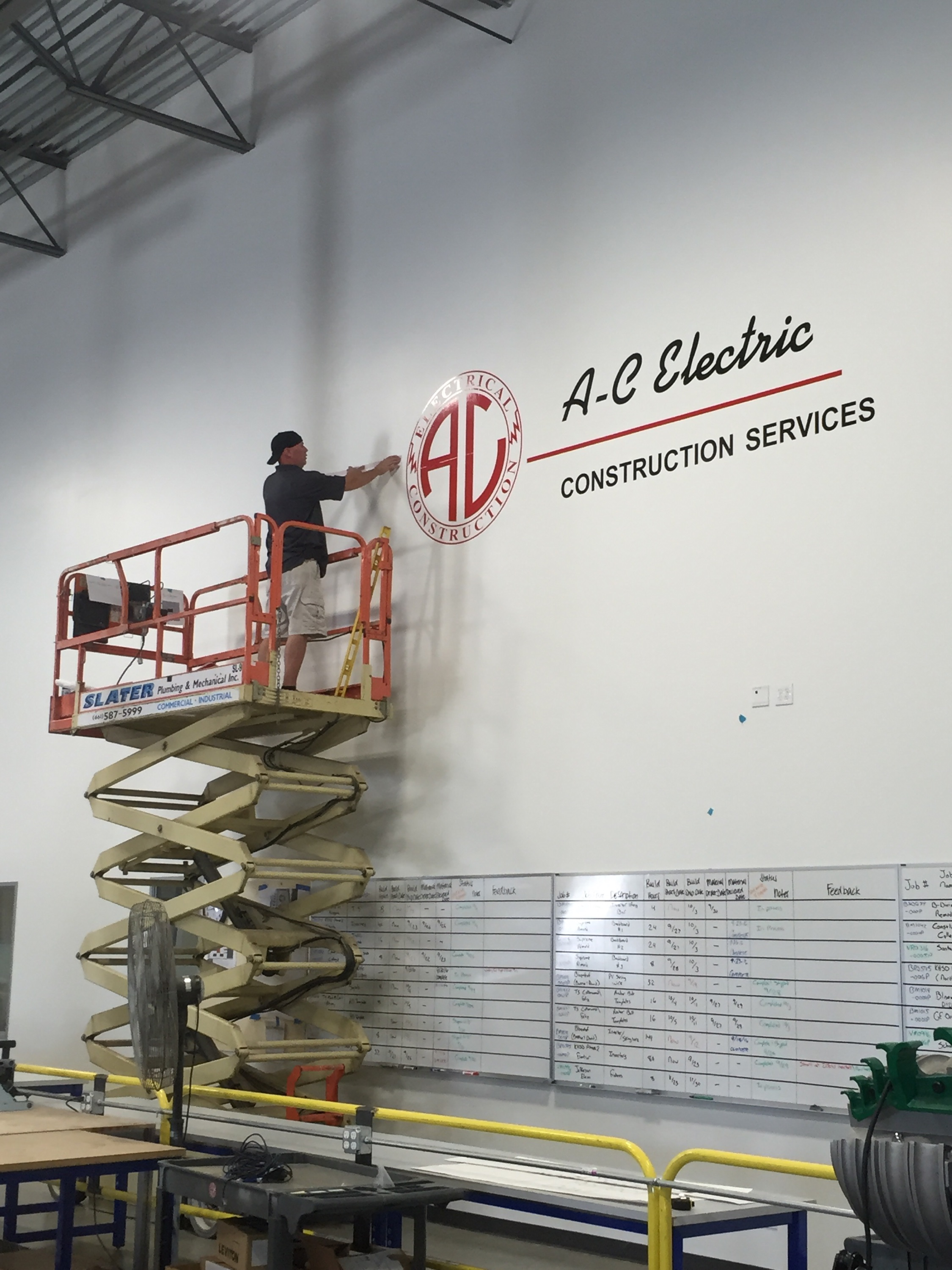 Sign & Installation - Bakersfield