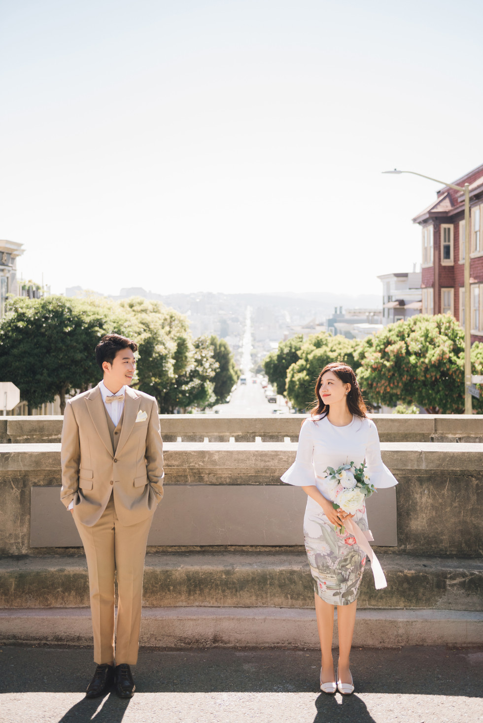 San Francisco City Couple Photos