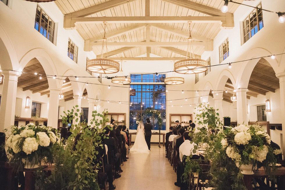 Eagle Rock Art Center Wedding