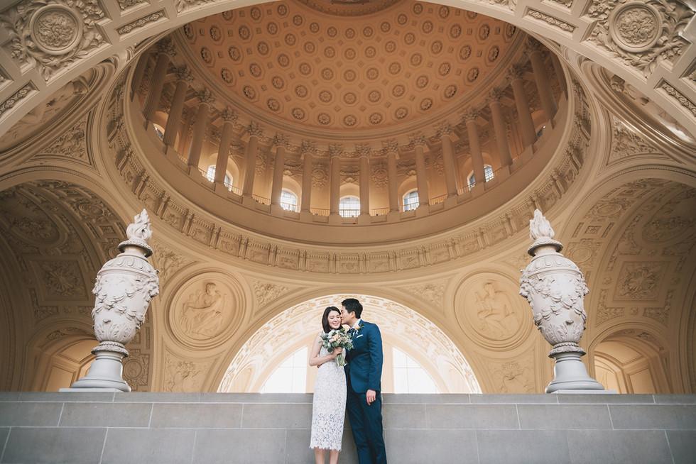 Civil ceremony in the Rotunda