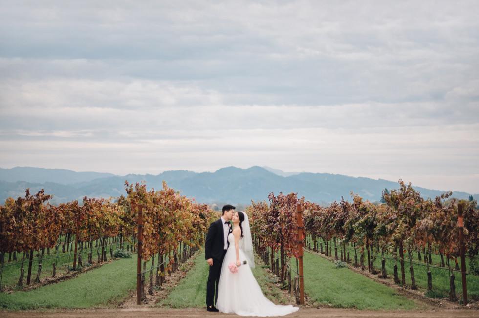 Trentadue Winery Wedding