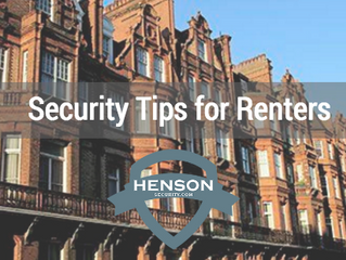 Security Tips for Renters & House Sharers