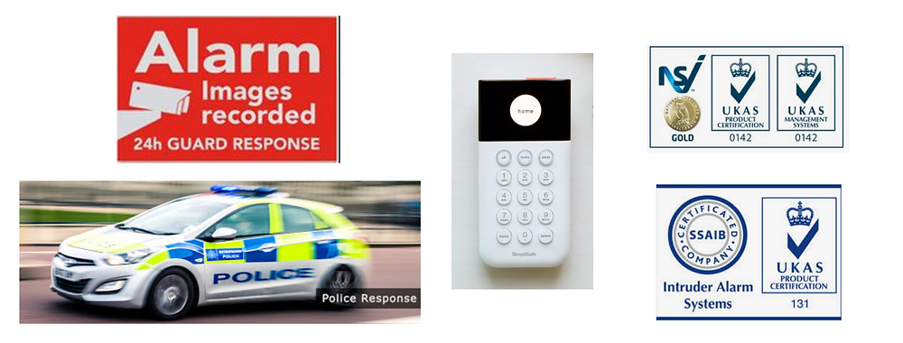 SSAIB Installed alarm