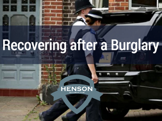 How to recover from a burglary