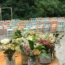 Hochzeit - 180 Gäste - Englischer Garten München