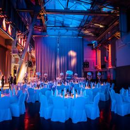 500 Gäste X-mas Party Kesselhaus