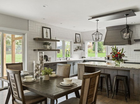 Dining overlooking Kitchen