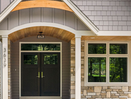 Arched Front Porch