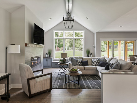 Valted Ceiling Living Room