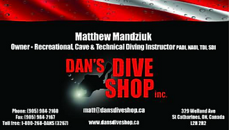 Dive store, technical diving, entry level scuba diving