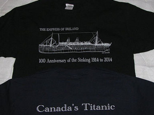 T-Shirts of the Empress of Ireland Rigging Plan