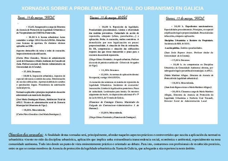 Conferencia sobre la reposición de la legalidad urbanística por el abogado especialista Diego Gómez en curso organizado por COSITAL, EGAP y Axencia de protección de la legalidade urbanística