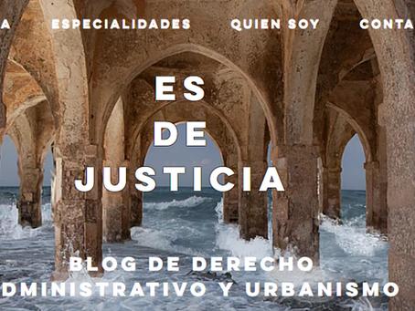 El blog Es de Justicia finalista de los Premios blog oro jurídico 2020