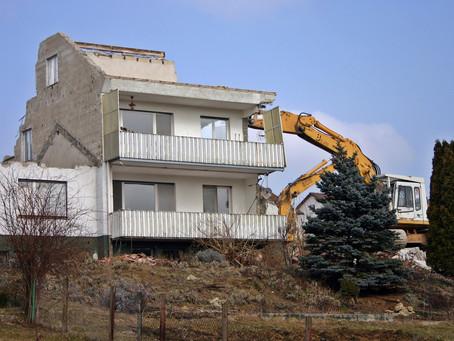 Las demoliciones urbanísticas y los terceros de buena fe