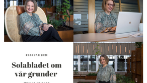 Artikkel om vår gründer Monica Eriksen i Solabladet
