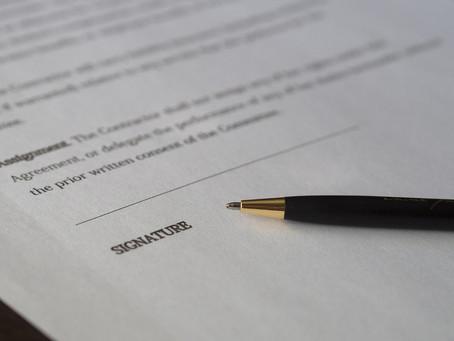 Episode 11: Signering av kontrakt