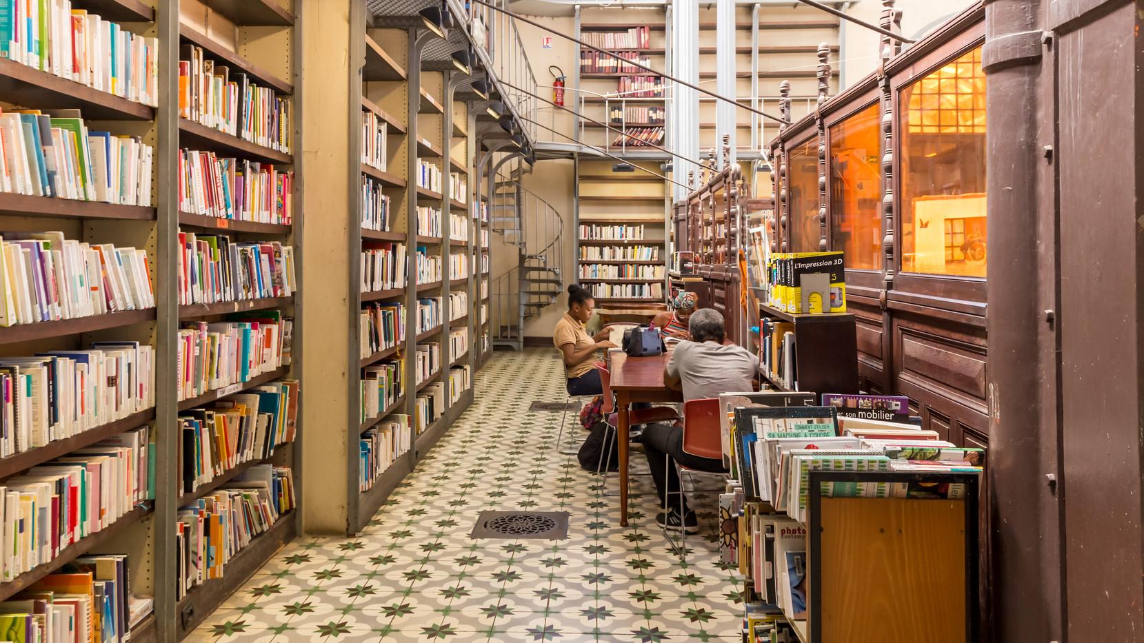 La Bibliothèque Schoelcher