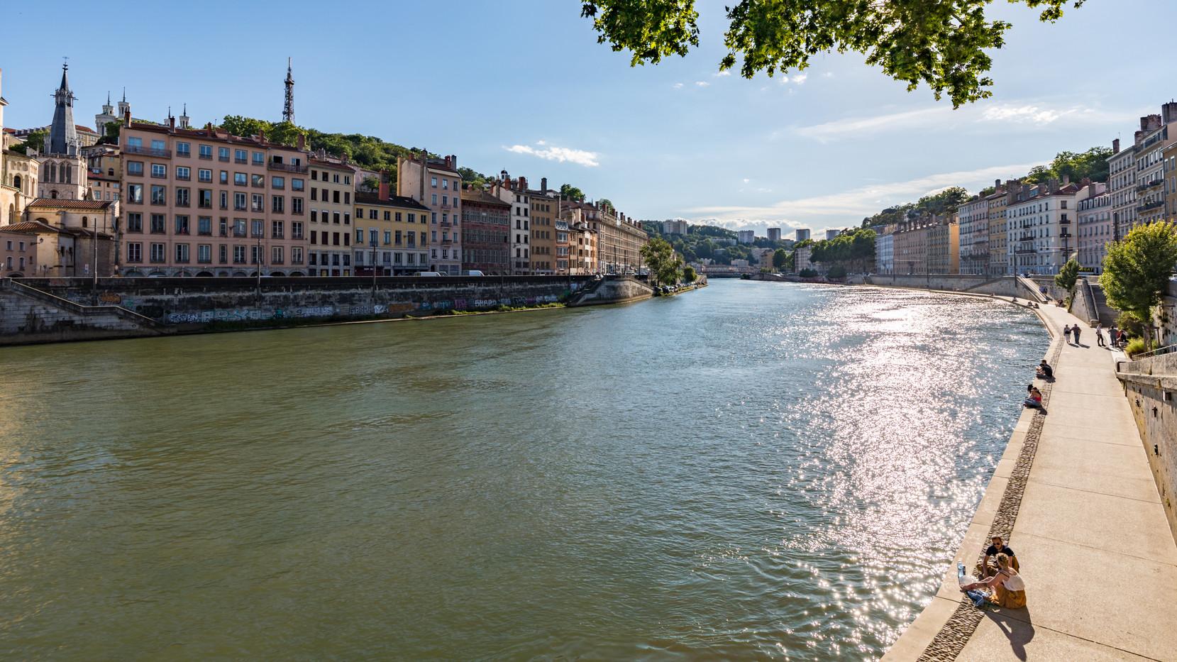 Les quais de Saône